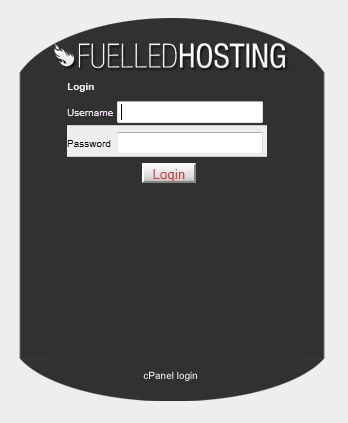 cPanel login them by ganey, for fuelledhosting.co.uk