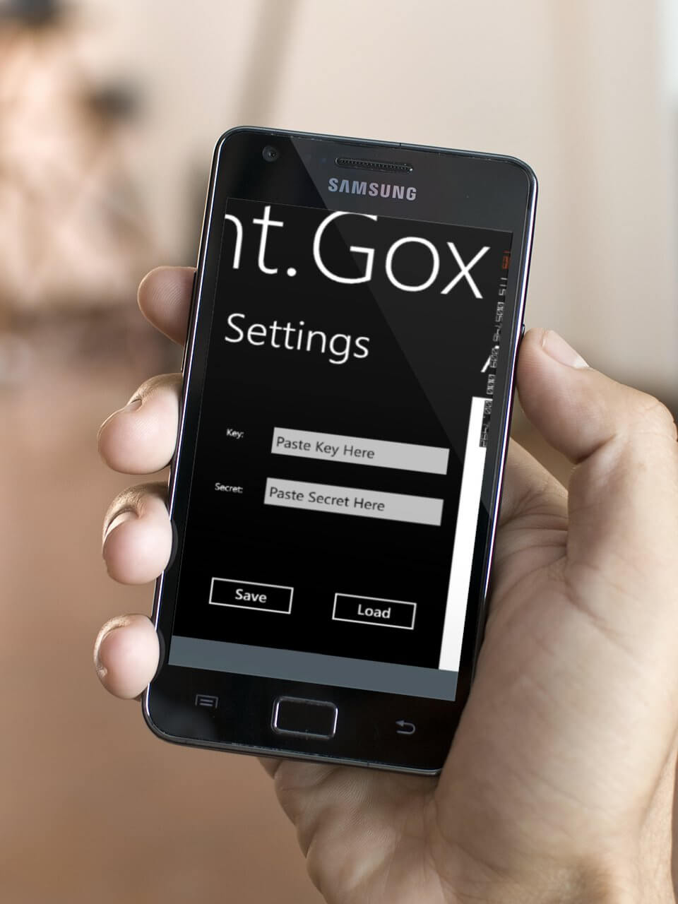 mt.goc app on windows phone concept